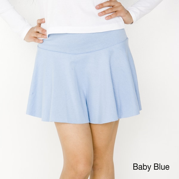 American Apparel Women's Thick Knit Jersey Skirt