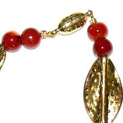Susen Foster Designs 'Red Satin' Jewelry Set