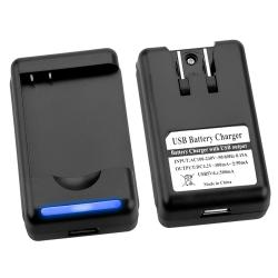 Battery/ Desktop Battery Charger for HTC Z710e/ Sensation 4G/ Pyramid