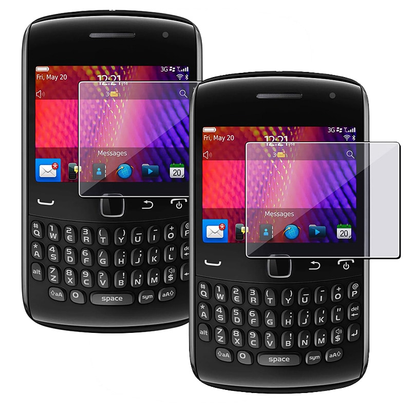 Screen Protector for BlackBerry Curve 9350/ 9360/ 9370 (Pack of 2)