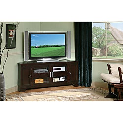 William's Home Furnishing 60-inch Corner TV Stand
