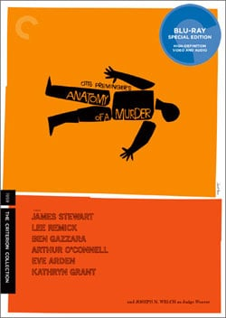 Anatomy of a Murder - Criterion Collection (Blu-ray Disc)