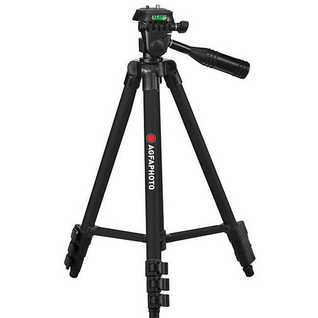 AGFA Deluxe 50-Inch Photo/Video Tripod for Cameras and Camcorders