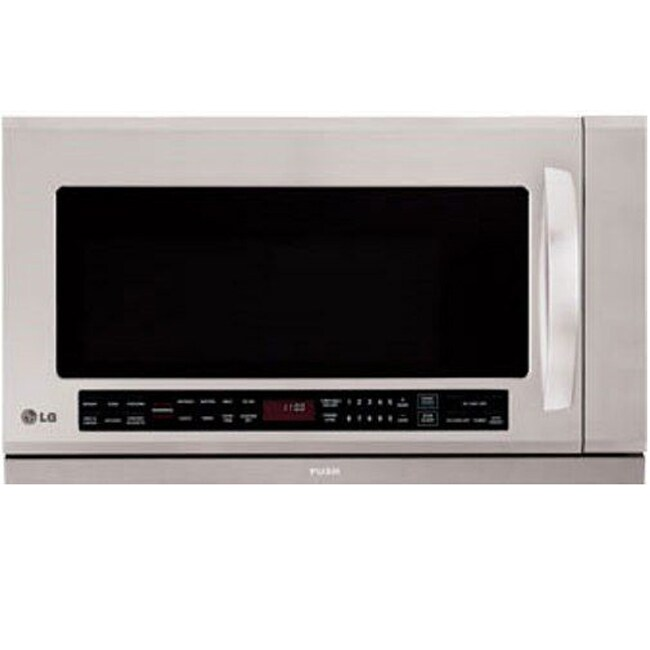 LG Stainless Steel Over-the-Range Microwave Oven (Refurbished)