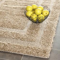 Casual Ultimate Beige Shag Rug (3'3 x 5'3)