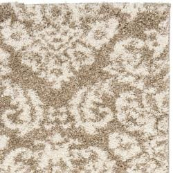 Ultimate Casual Beige Shag Runner Rug (2'3