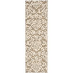 Safavieh Ultimate Casual Beige Shag Runner Rug (2'3