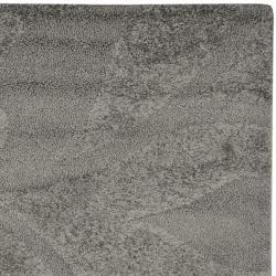 Safavieh Ultimate Dark Gray/Beige Polypropylene Shag Rug (6' 7