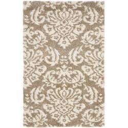 Ultimate Beige Shag Rug (3'3 x 5'3)