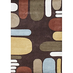 Hand-tufted Alliyah Multi Colors New Zealand Blend Wool Rug (5' x 8')