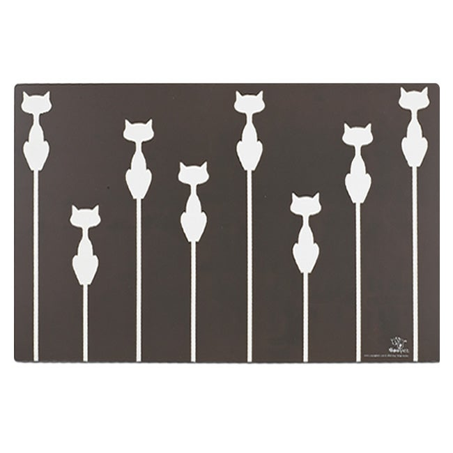Ore Shadow Cat Placemat in Brown