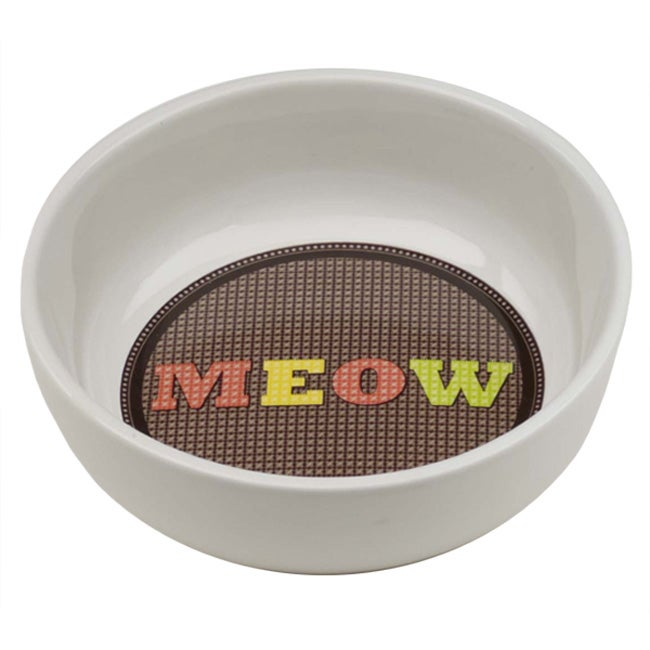 Ore Cross Stitch Meow Ceramic Bowl