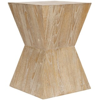 Safavieh Bali Sugkai Wood Side Table
