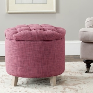 Safavieh Rose Reims Rose Storage Ottoman