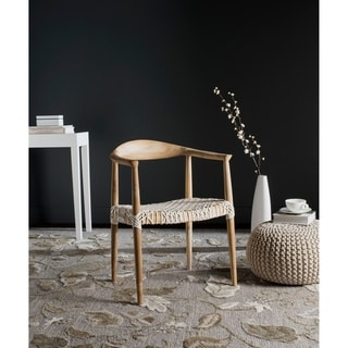 Safavieh Bandelier Light Oak Arm Chair