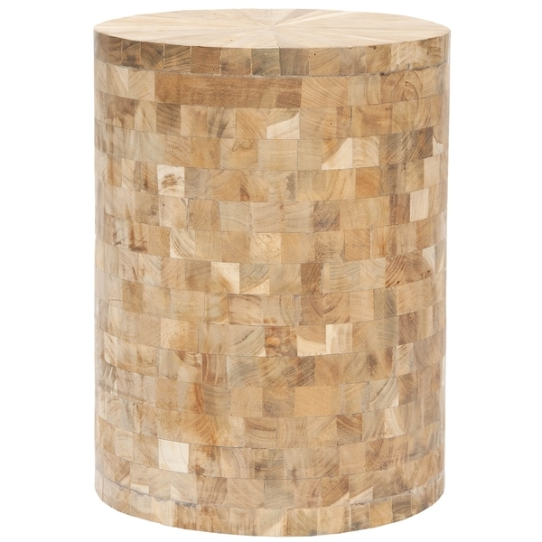 Safavieh Tioga Light Maple Stool
