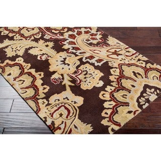 Hand-tufted Huddersfield New Zealand Wool Rug (9' x 13')