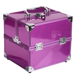SOHO Purple Pop Beauty and Cosmetics Case