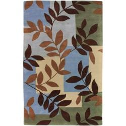 Hand-tufted Hednesford New Zealand Wool Rug (9' x 13')