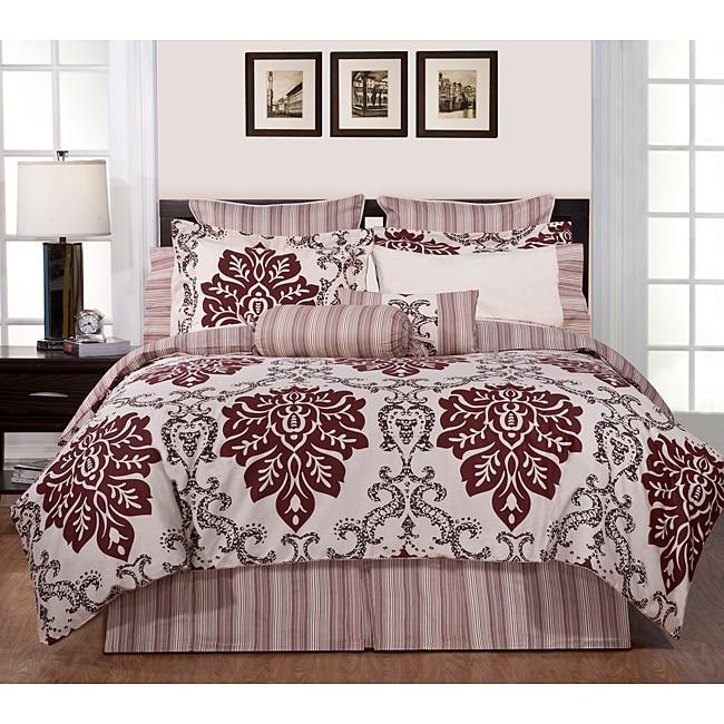 Country Ridge King-size 8-piece Comforter Set