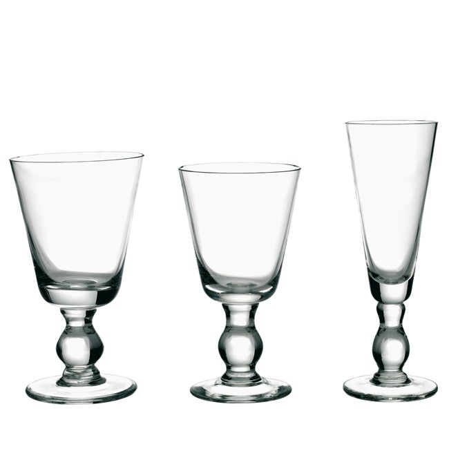 La Rochere 6-piece Mouth Blown Bocage Glassware Set