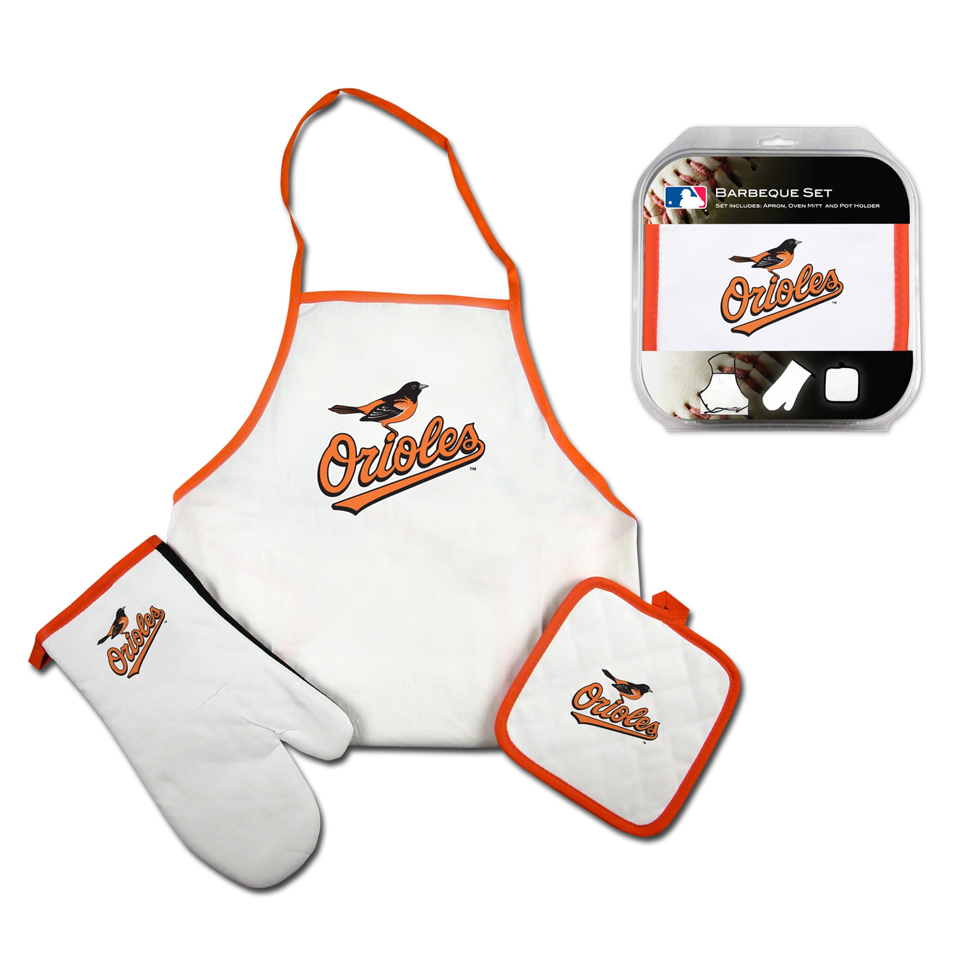 Baltimore Orioles 3-piece BBQ Set