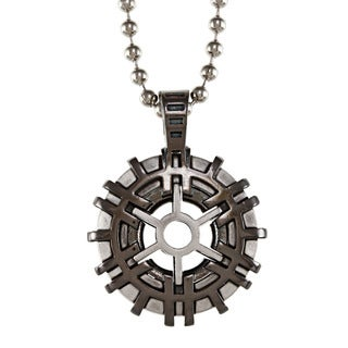 Fine Grade Pewter Bico Two-tone Architect Pendant