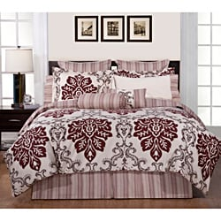 Country Ridge Queen-size 12-piece Bed in a Bag with Sheet Set