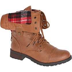 Sweet Beauty Women's Terra Mid-calf Combat Boots