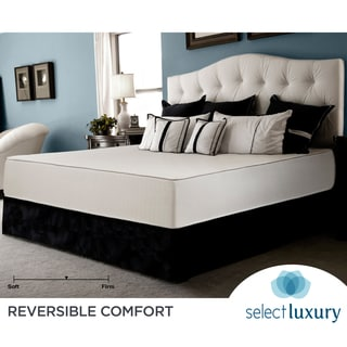 Select Luxury Reversible Medium Firm 10-inch Twin-size Foam Mattress