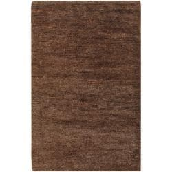 Hand-woven Erith Natural Fiber Hemp Rug