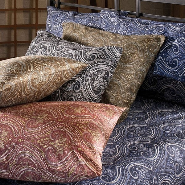 Harbour Paisley Queen-size Microfiber Sheet Set
