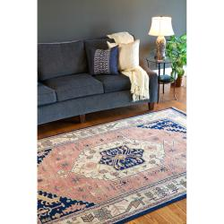 Hand-knotted Adana Semi-worsted New Zealand Wool Rug (8' x 11')