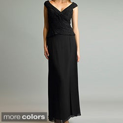 Issue New York Women's Silk Long Cocktail Dress