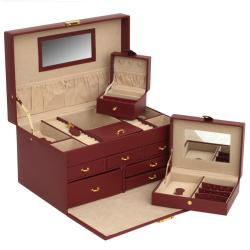 WOLF 'Chelsea' 6-drawer Jewelry Case