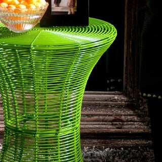 Cordoba Indoor/Outdoor Green Round Side Table