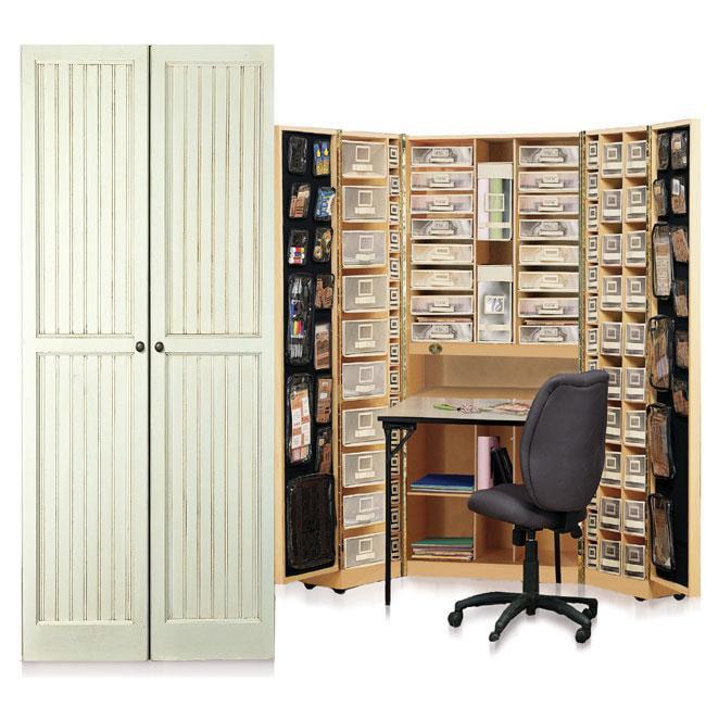 Workbox Vanilla Bead Board Scrapbooking & Office Desk