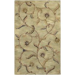 Hand-tufted Hessle Wool Rug (9' x 13')