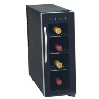 Koldfront Thermoelectric Black 4-bottle Wine Cooler