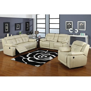 Allen Dual Reclining Sofa and Loveseat