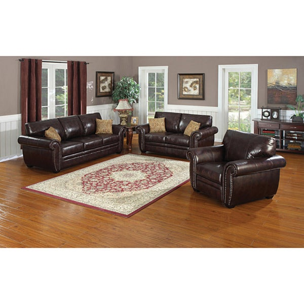 Louis Sofa and Loveseat Set