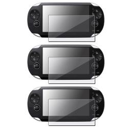 Anti-Glare Screen Protector for Sony PSP VITA (Pack of 3)
