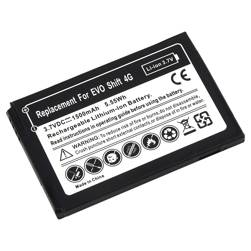 Li-Ion Battery for HTC EVO Shift 4G