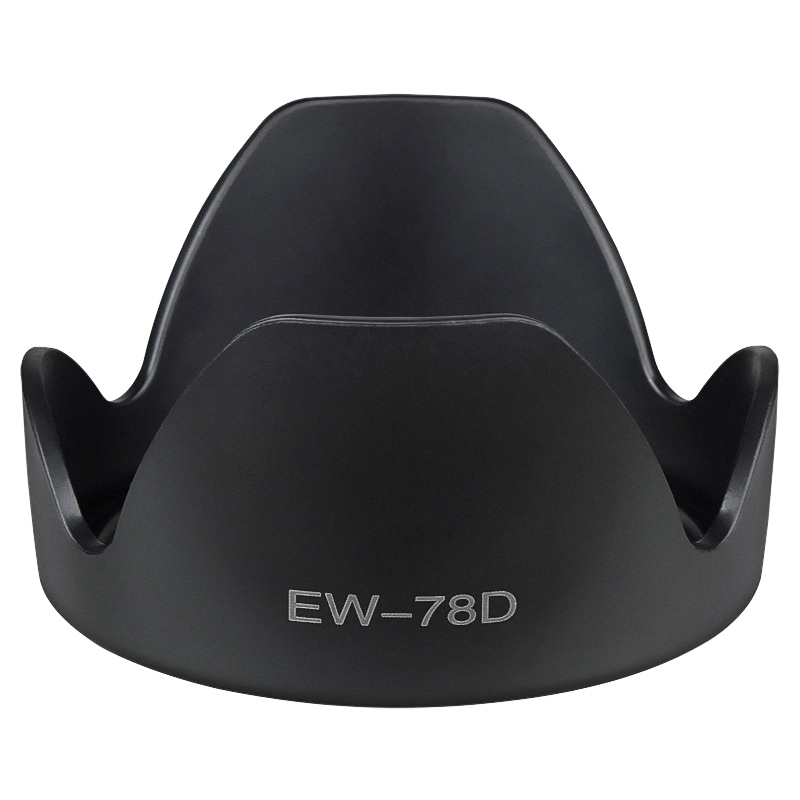 INSTEN 102-mm Crown Lens Hood for Canon EW-78D