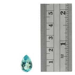 Glitzy Rocks Pear-shape 14x10mm Blue Topaz 6 1/4ct TGW Stone