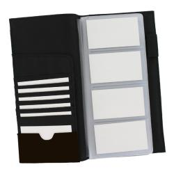 Rolodex Low Profile Brown Business Card Book (96 Card Capacity)