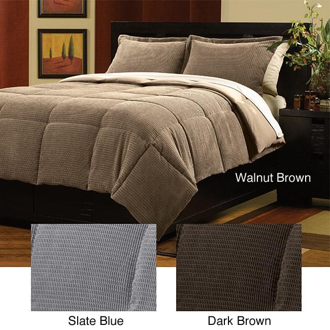 Urban Plush Down Alternative 3-piece Comforter Set