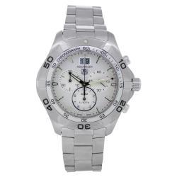 Tag Heuer Men's CAF101F.BA0821 Aquaracer Chronograph Watch