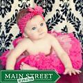 Extra Fluffy Pink and Hot Pink Tutu/ Headband/ Bow 3-piece Set