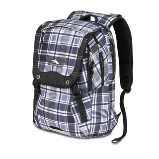 High Sierra Asphalt Mad for Plaid Laptop Backpack
